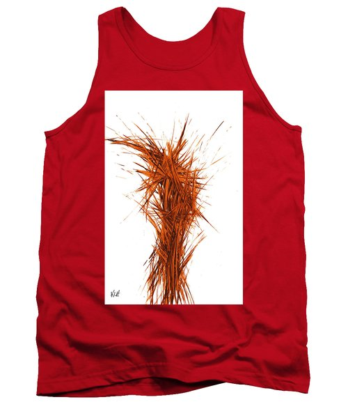 Tank Top featuring the painting Intensive Abstract Painting 1029.050512 by Kris Haas