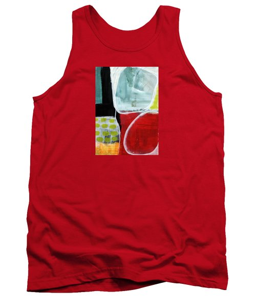 Intersection 37- Abstract Art Tank Top by Linda Woods