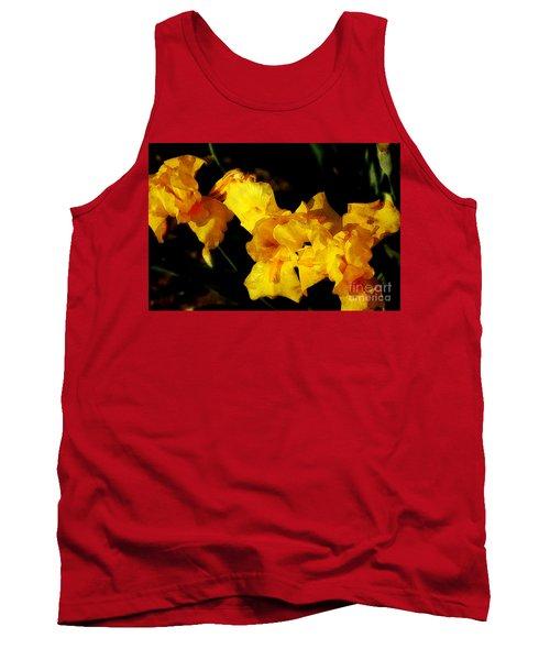 Irises Tank Top by David Blank