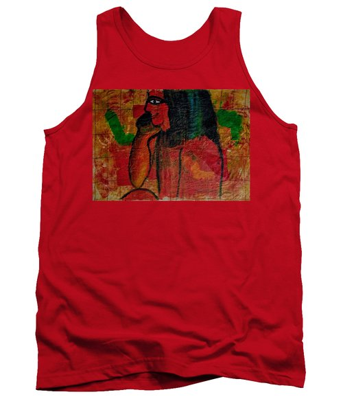 Isis, Egyption Queen Of Earth Tank Top