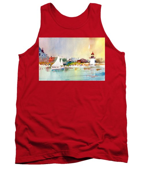 Island Light Tank Top