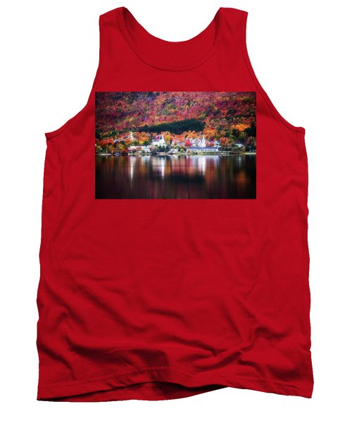 Island Pond Vermont Tank Top by Sherman Perry