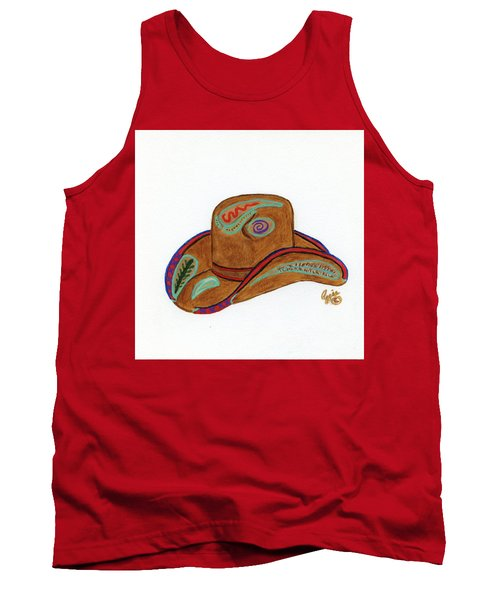 It's All About The Hat Tank Top