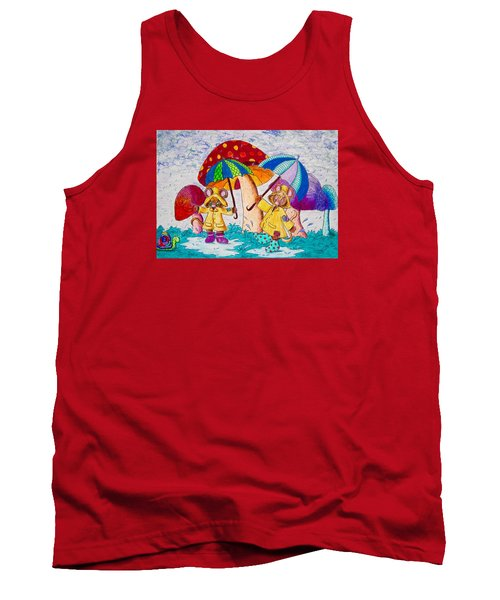 Its Raining Its Pouring Tank Top by Megan Walsh