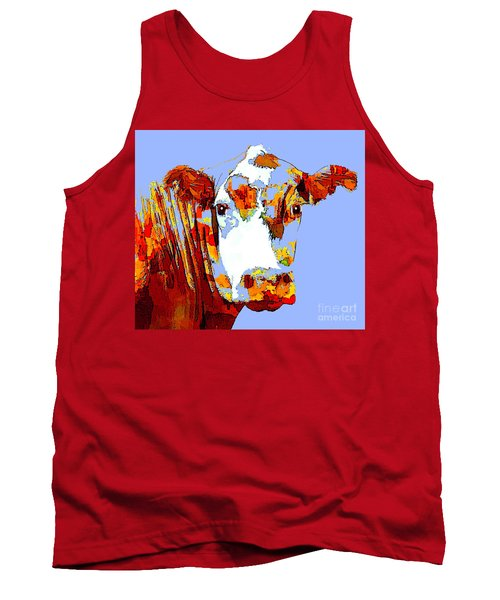 Purple Cow Tank Top