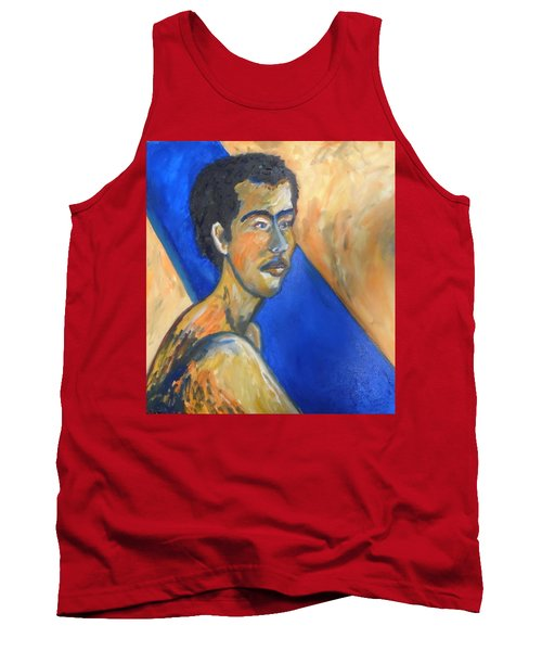 Tank Top featuring the painting Jacob Patriarch Of The Israelites by Esther Newman-Cohen