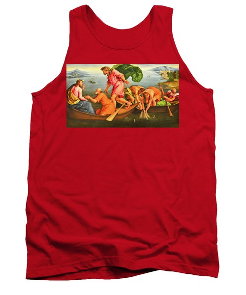 Tank Top featuring the photograph Jacopo Bassano Fishes Miracle by Munir Alawi