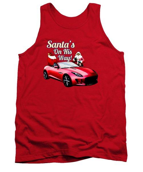 Santas Secret Sleigh Revealed Tank Top