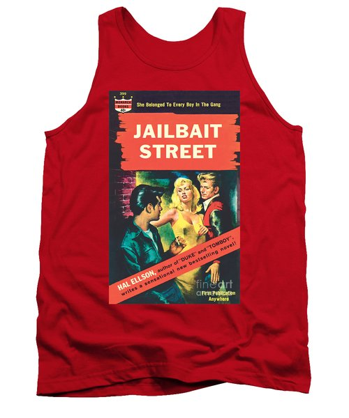 Tank Top featuring the painting Jailbait Street by Ray Johnson