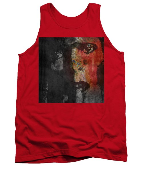 Tank Top featuring the painting Jamming Good With Wierd And Gilly by Paul Lovering
