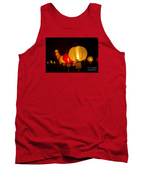 Japanese Lanterns 3 Tank Top