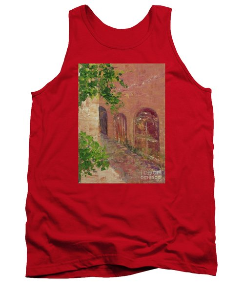 Jerusalem Alleyway Tank Top by Gail Kent