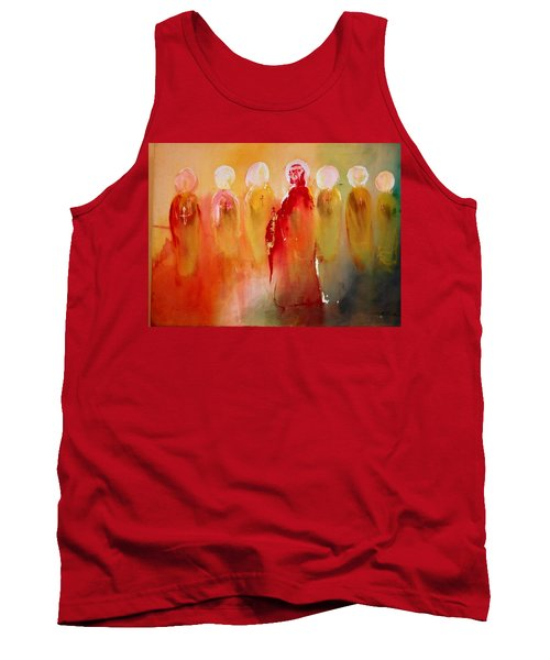 Jesus With His Apostles Tank Top