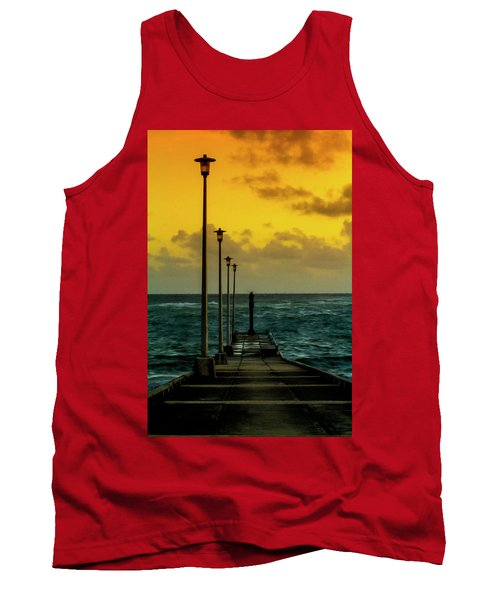 Jetty At Sunrise Tank Top