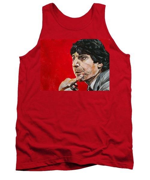 Tank Top featuring the painting Jimmy V by Joel Tesch