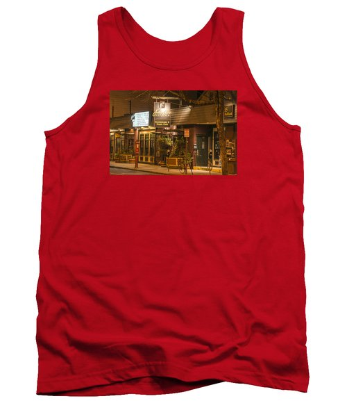 Johnny Ds Music Club In Davis Square Somerville Ma Tank Top