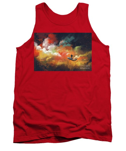 Journey To Outer Space Tank Top