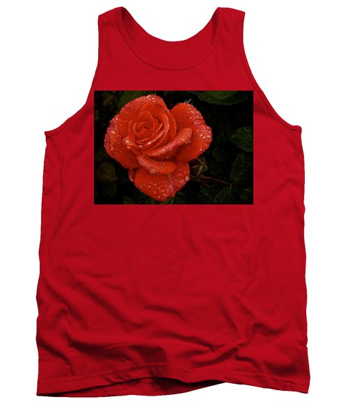 Tank Top featuring the photograph June 2016 Rose No. 3 by Richard Cummings