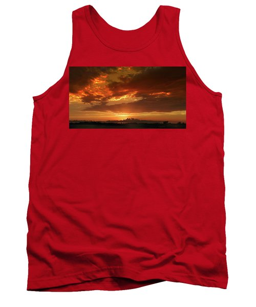 June Sunset Tank Top by Rod Seel