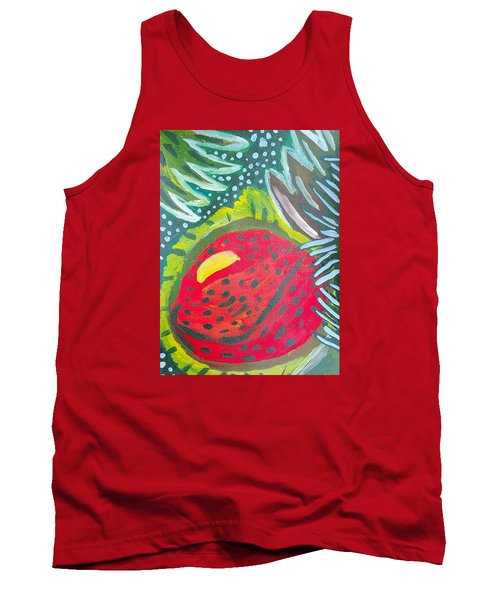 Tank Top featuring the painting Jungle Fruit by Artists With Autism Inc