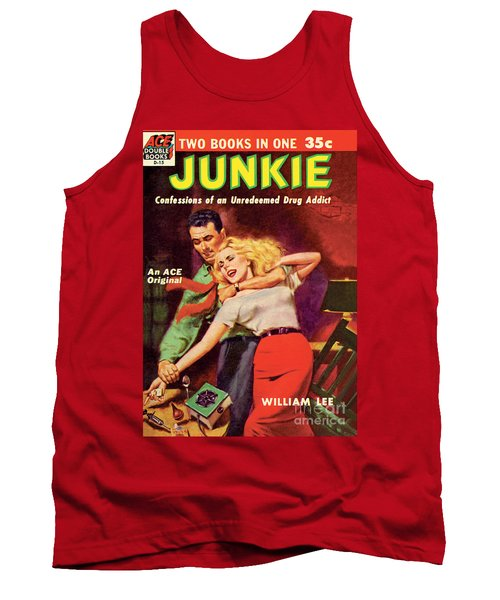 Tank Top featuring the painting Junkie by Al Rossi