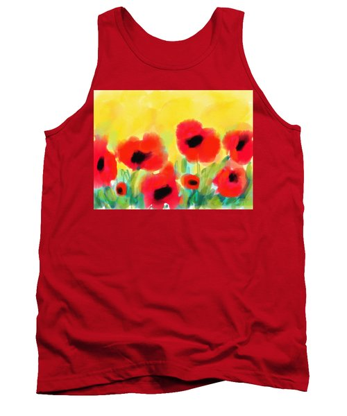 Just Poppies Tank Top