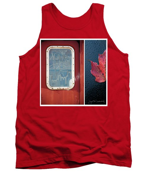 Juxtae #14 Tank Top by Joan Ladendorf