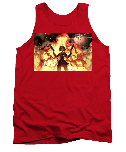 Kabaneri Of The Iron Fortress Tank Top