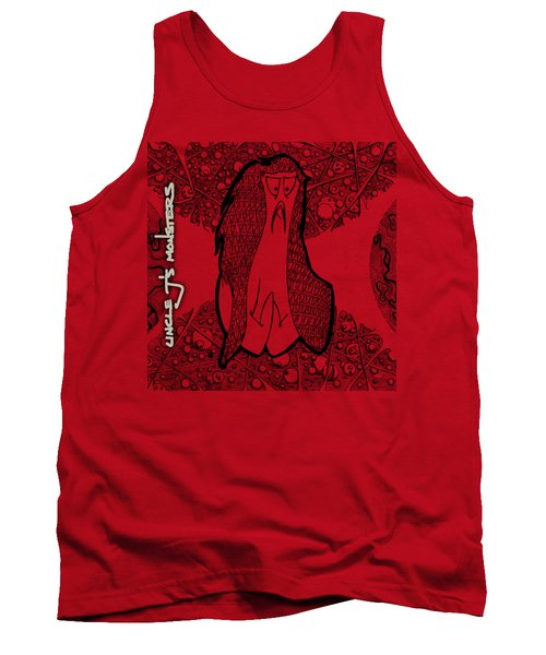 Kabuki Spaceghost Tank Top by Uncle J's Monsters