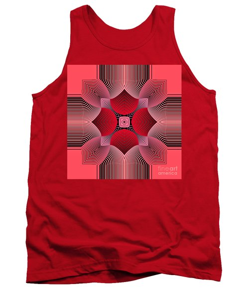 Tank Top featuring the digital art Kal - 36c77 by Variance Collections
