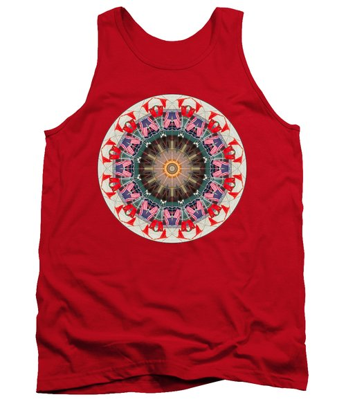 Kaleidos - Ptown07 Tank Top by Jack Torcello