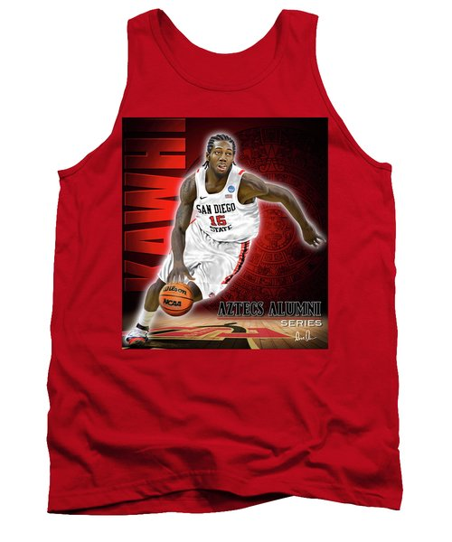 Tank Top featuring the photograph Kawhi by Don Olea