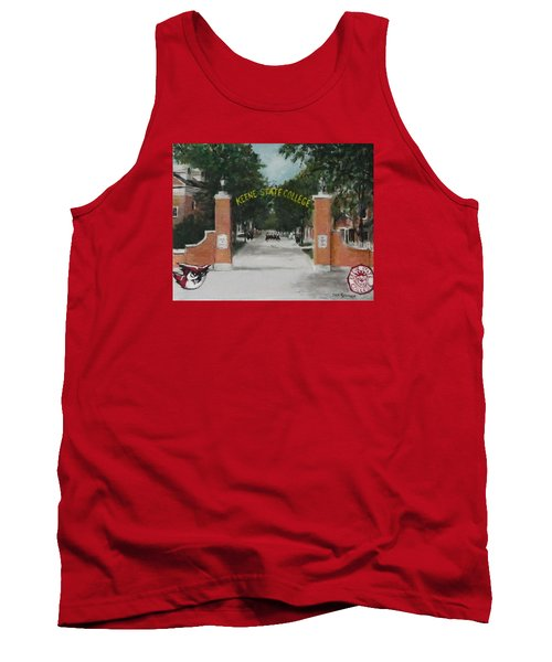 Tank Top featuring the painting Keene State College by Jack Skinner