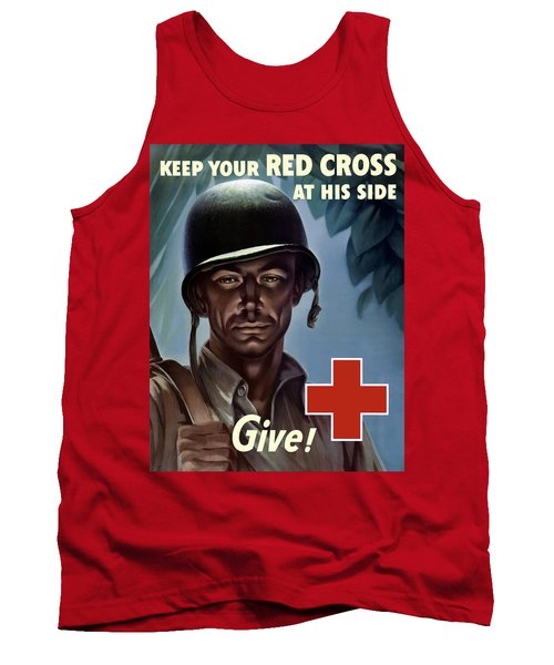 Keep Your Red Cross At His Side Tank Top