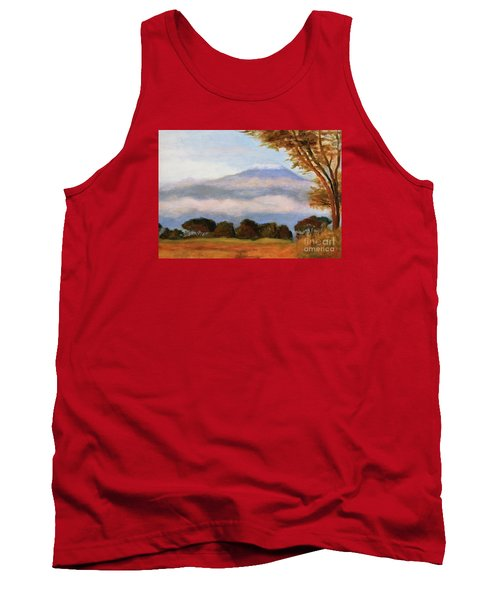Tank Top featuring the painting Kilamigero by Marcia Dutton