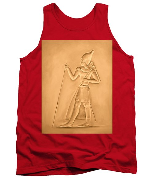 Tank Top featuring the painting King by Elizabeth Lock