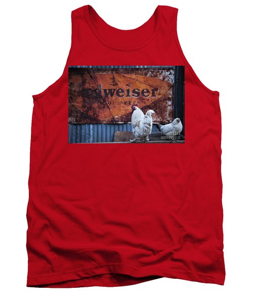 Tank Top featuring the photograph King Of Beer Doodle Do by Lee Craig