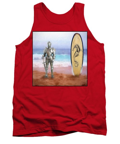 Tank Top featuring the painting Knights Landing by Michael Cleere