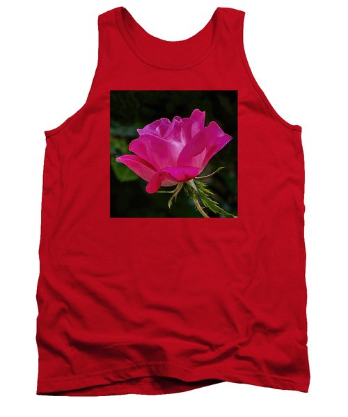 Tank Top featuring the photograph Knock-out Rose by Susi Stroud
