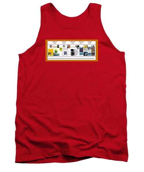 Know Thyself Tank Top by Peter Hedding