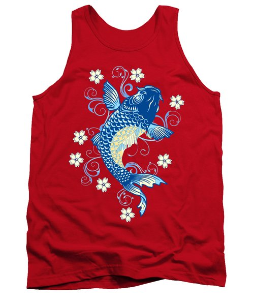 KOI Tank Top by Otis Porritt