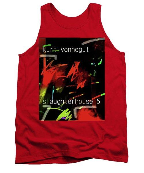 Kurt Vonnegut Poster  Tank Top