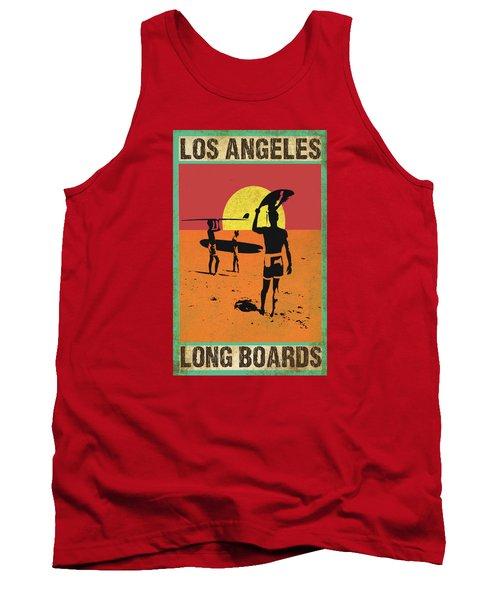 La Long Boards Tank Top by Greg Sharpe