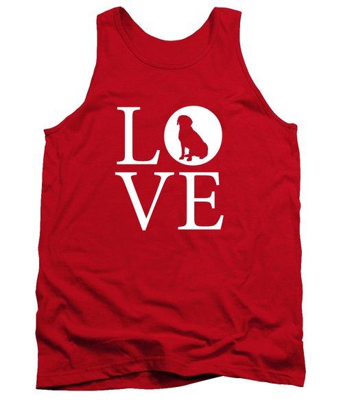Labrador Love Red Tank Top