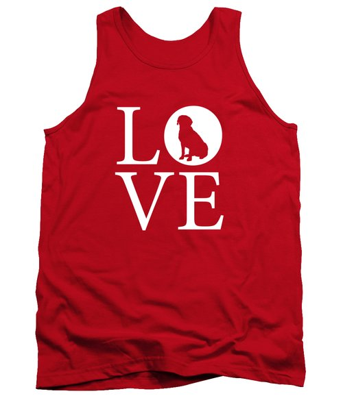 Labrador Love Red Tank Top