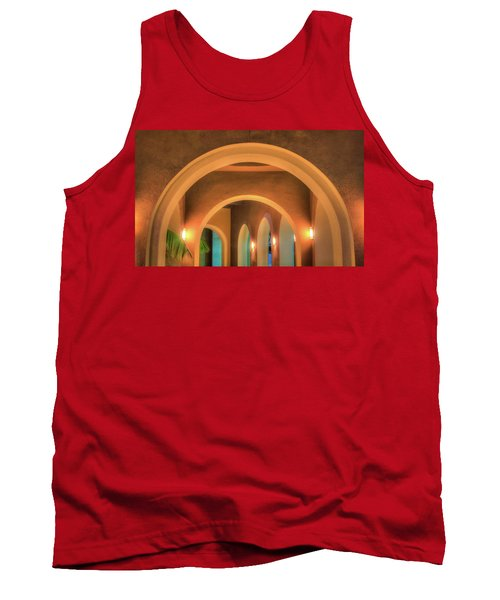 Labyrinthian Arches Tank Top