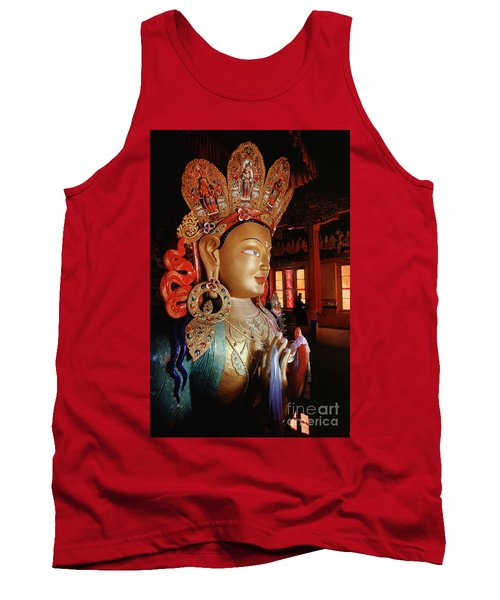 Tank Top featuring the photograph Ladakh_41-2 by Craig Lovell