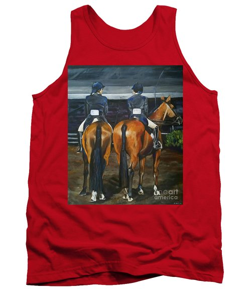 Ladies At Sussex Hunt Night Tank Top