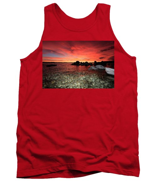 Lake Tahoe Liquid Dreams Tank Top