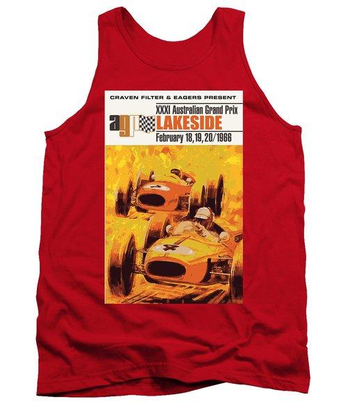 Lakeside Racing Tank Top by Gary Grayson